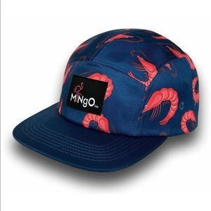 Mingo Lids Dawn Prawn SnapBack hat blue shrimp